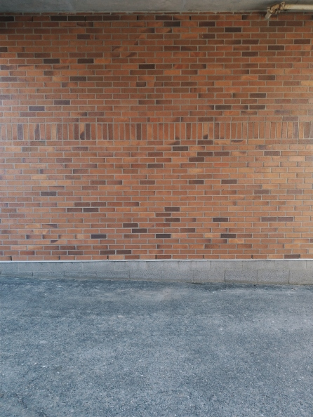 An excellent brick wall.
